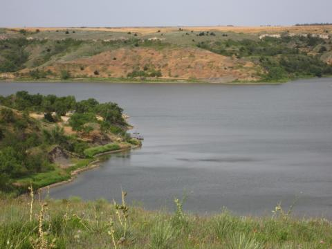 <p>Clark Co. Lake, KS</p>